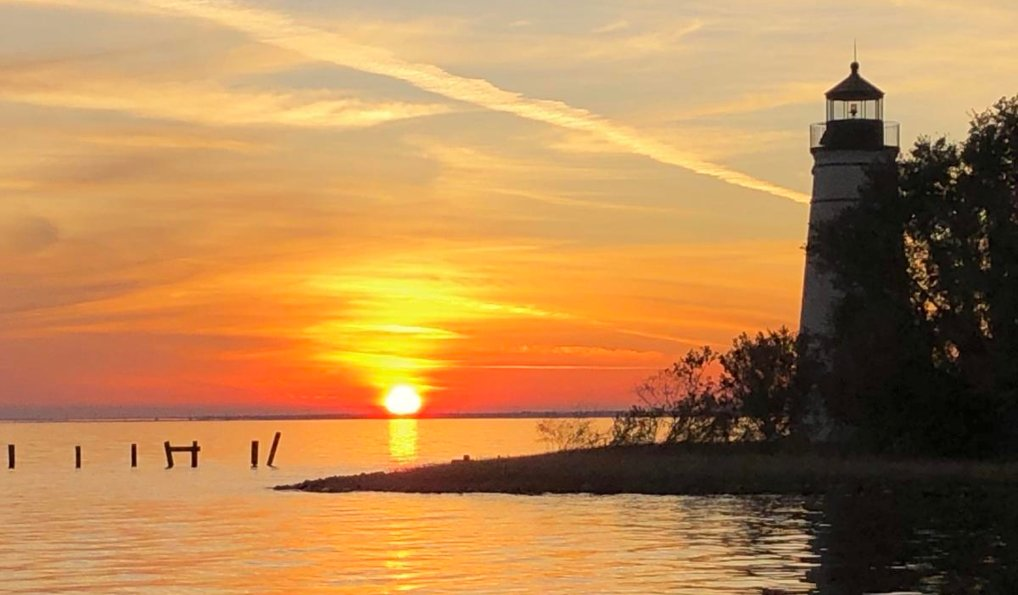 Lake Pontchartrain Sunset Taken By Ray Reggie