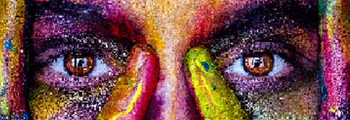 Colorful Eyes Picture