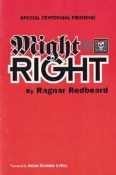 MIGHT IS RIGHT Ragnar Redbeard Anton Szandor LaVey Forword