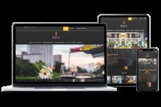 website development project for maldives hotel