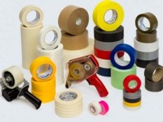 packaging material and adhesive