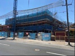 Sydney scaffolding team finalising a scaffold build in Sydney's Inner Western Suburbs