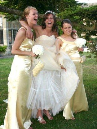 Candid Bride photo