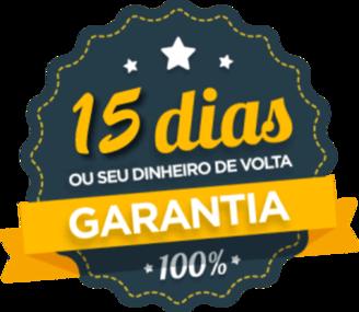 15 dias de garantia no curso de gerenciamento financeiro