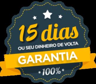 15 dias de Garantia no Curso