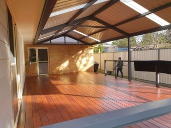 Completed Pergola in Hill Top, NSW