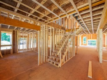 New Timber Framing on a residential home