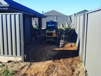 Landscaping preparation in the Southern Highlands