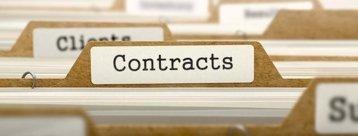 Verträge in Hängeordnern