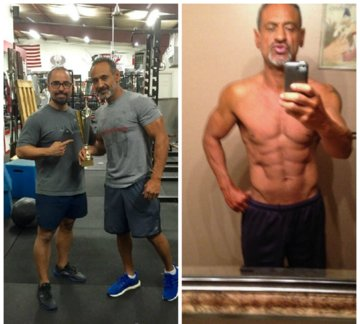 Coach Ryan Fitness client who competed in NPC Mens Master physique division.