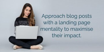 How To Turn Blog Posts Into High Converting Landing Pages