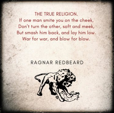 """Ragnar Redbeard """"The True Religion."""" Ragnar Redbeard Famous Quotes and Sayings"""