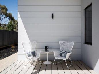 Contemporary cladding in an Australian home