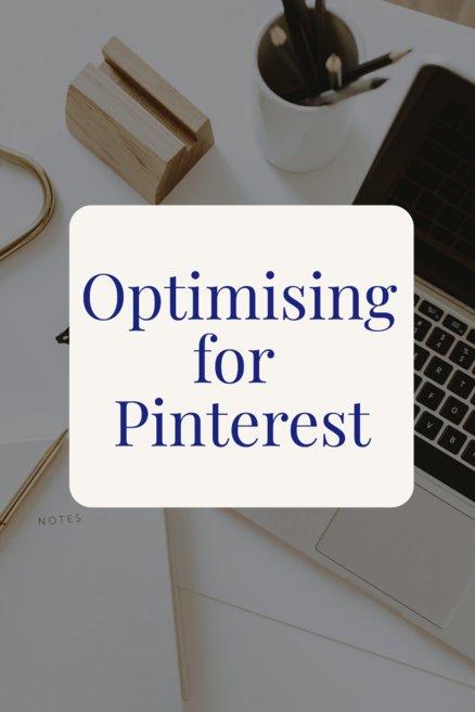Optimising for Pinterest