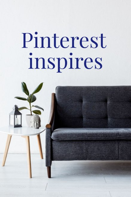 People use Pinterest to get inspiration