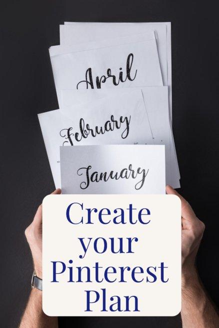 Create your Pinterest Plan