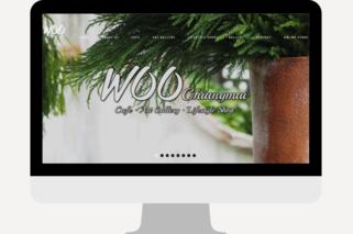 Cafe website design agency chiang mai
