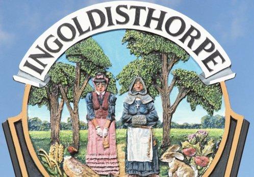 Ingoldisthorpe Town Sign