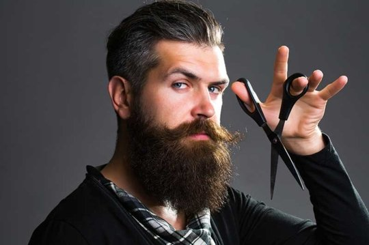 professional barber welcoming gentlemen of all ages to barbershop in Sanborn NY