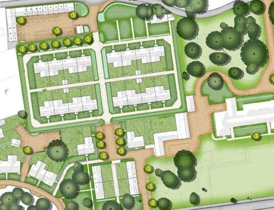 Brampton Gardens Granchester Plots Location