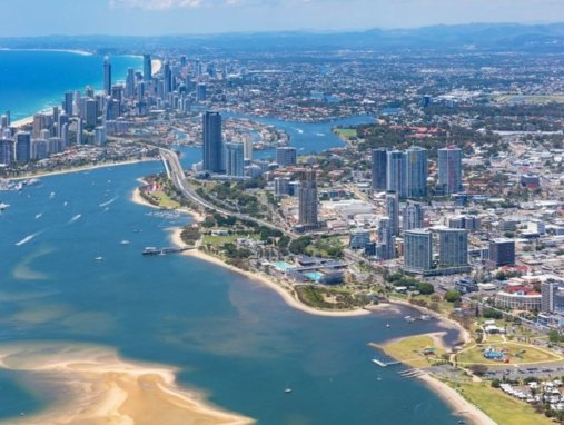 Southport aerial view southport removalists