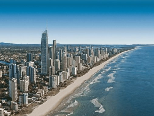 Surfers Paradise aerial view surfers paradise removalists