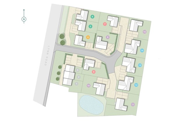 Ingoldisthorpe Site Plan