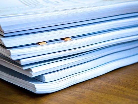 Unterlagen für den Jahresabschluss