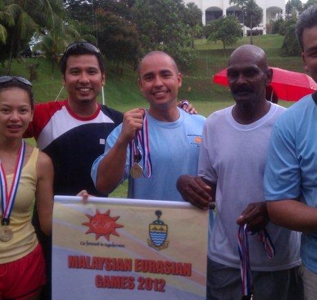 Coach Ryan in Penang Malaysia competing in the first Malaysian Eurasian Games.