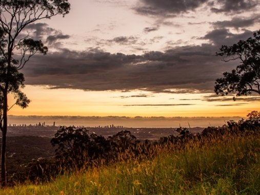 Tallai lookout to Gold Coast