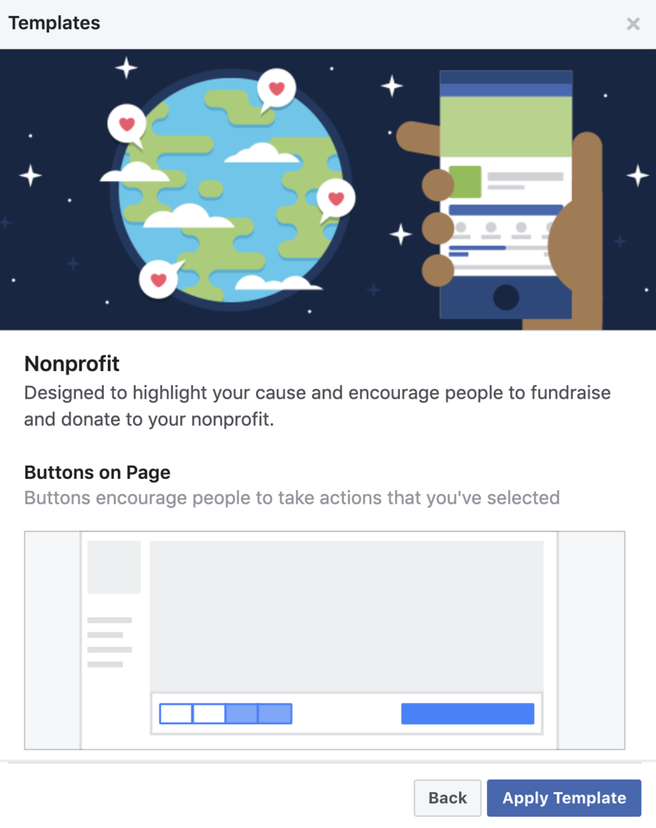 facebook-instagram-page-templates-charity-nonprofit-donate-button